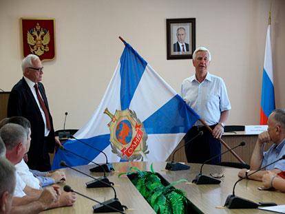 Торжественная церемония открытия Саратовского регионального отделения ОАНБ