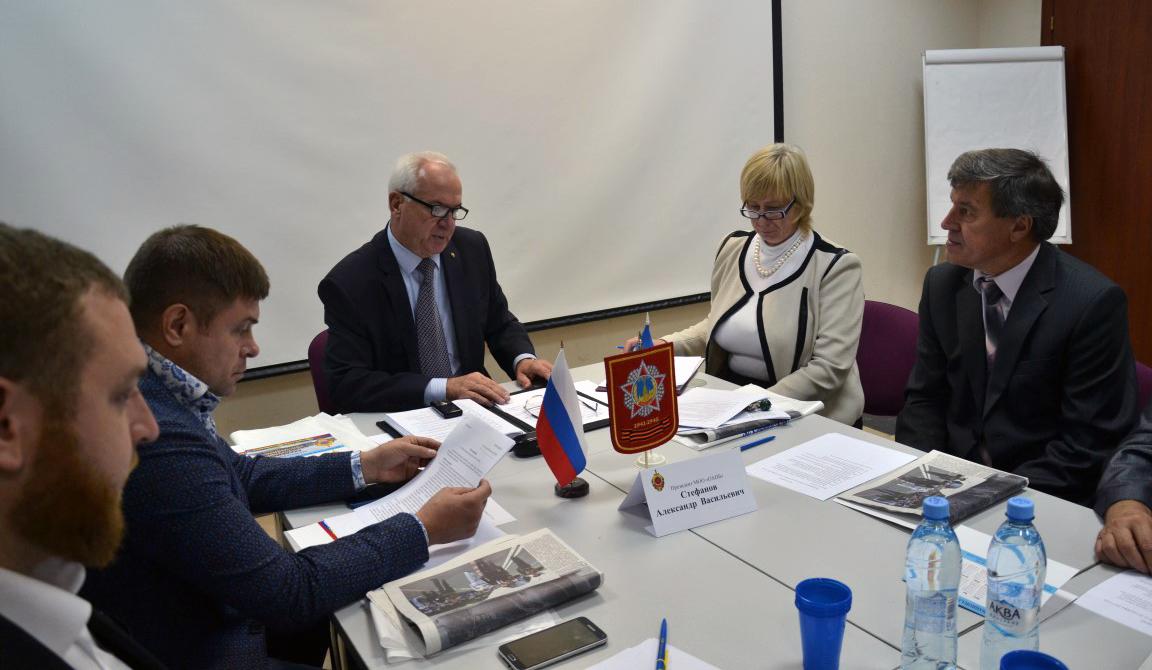 Расширенное заседание президиума ОАНБ