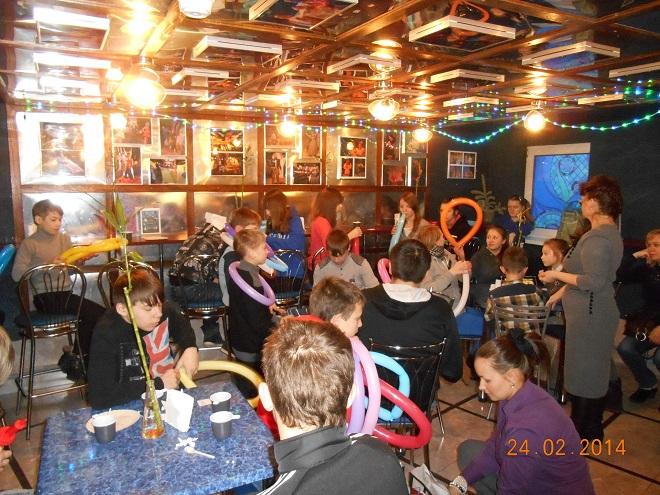 Праздник для ребят из детских домов Московской и Владимирской областей