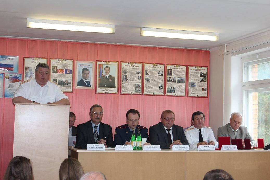 30-летний юбилей Медынского филиала музея истории УМВД России по Калужской области