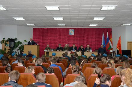 Торжественное собрание, посвященное закрытию «Вахты Памяти-2014»