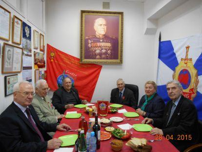 Академия поздравила ветеранов ВОВ