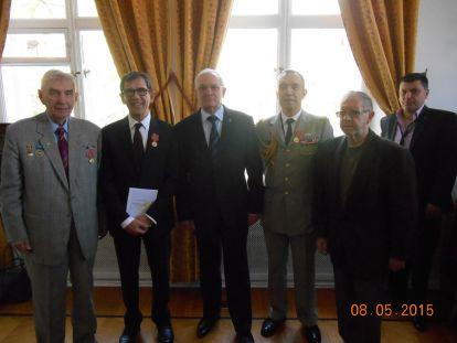 Юбилейная церемония в честь 70-летия Победы в посольстве Франции