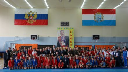XI турнир по самбо памяти И.П. Песоцкого